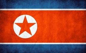 Picture flag, flag, North Korea, North Korea