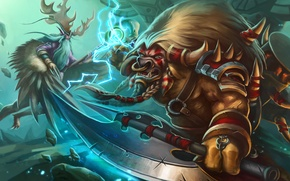Picture warcraft, Heroes of the Storm, Malfurion Stormrage, Malfurion, E.T.C., Rock God, Archdruid