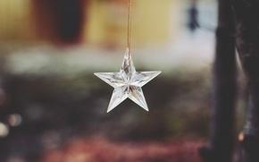 Picture star, decoration, suspension