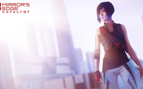 Picture girl, the game, parkour, Mirror's Edge: Catalyst