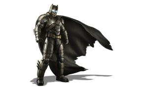 Picture Batman, armor, look, pose