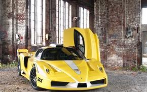 Picture Windows, post, the door, front view, Ferrari Enzo, Edo Competition