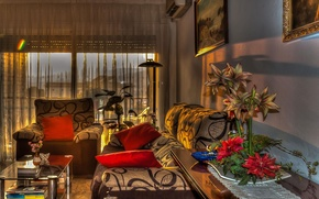 Picture design, style, room, interior, hdr, living room