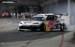Picture drift, mazda, red bull, long beach, speedhunters, rx-8, formula drift