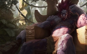 Picture art, Troll, League of Legends, Trundle, Mitchell Malloy