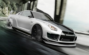 Picture Nissan, gt-r, Godzilla, by hoperformance, R35