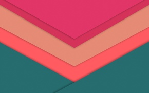 Picture line, green, pink, wallpaper, geometry, raspberry, material, desing