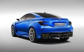 Picture Concept, Subaru, WRX, blue