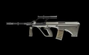 Picture background, machine, optics, shop, aug, army universal rifle, Army Universal Gun