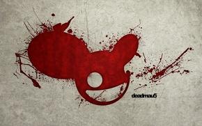 Picture blood, mouse, spot, DJ, deadmau5, DJ Deadmau5, deadmaus