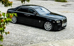 Picture car, Rolls Royce, Ghost, black