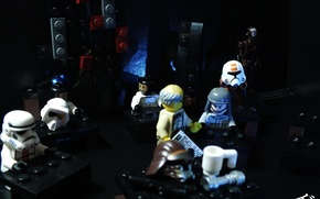 Picture bar, Star Wars, LEGO, lego, star wars, the pub, institution