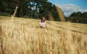 Picture nature, children, background, situation, Wallpaper, child, girl