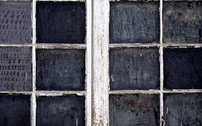 Picture dirt, glass, wood, window, paint, lack of maintenance