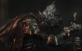 Picture Armor, Sword, Armor, Namco Bandai Games, From Software, Dark Souls 3, Dark Souls III