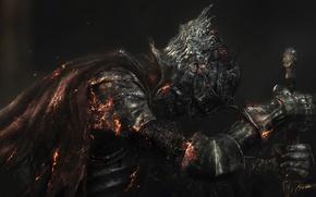 Picture Sword, Armor, Namco Bandai Games, Dark Souls 3, From Software, Armor, Dark Souls III