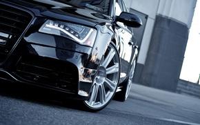 Picture car, auto, Audi, audi, car, black, cars, auto, wallpapers auto, wallpapers audi, Audi A8