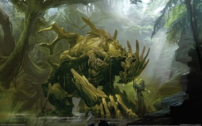 Wallpaper Trees, Love, Monster, Guild Wars 2