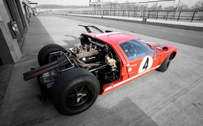 Picture engine, Ford, Ford, track, track, gt40, engine