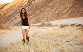 Picture Field, Grass, Boots