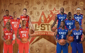 Picture Basketball, NBA, LeBron James, Kobe Bryant, Kevin Durant, Famous Stars Dwayne Wade, Players, Kevin Garnett, …