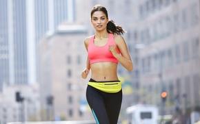 Picture fitness, running, sportswear, Shanina Shaik
