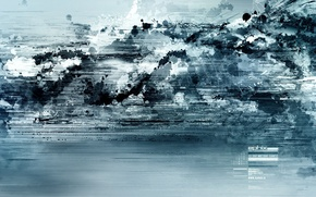 Wallpaper blue, fiction, Wallpaper, abstract