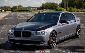 Picture machine, auto, BMW, BMW, wheels, drives, auto, 2015, Vossen Wheels