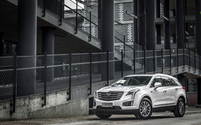 Picture white, Cadillac, Cadillac, crossover, XT5