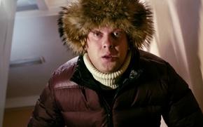 Picture eyes, movie, the film, hat, surprise, jacket, actor, Comedy, Sergei Svetlakov, Christmas tree 2, woke …
