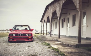 Wallpaper lights, BMW, E30, front