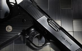 Picture gun, weapons, background, Wilson, CQB Elite