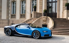 Wallpaper Bugatti, mansion, 2016, Chiron