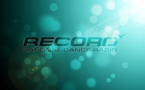 Picture abstraction, dance, bokeh, radio record, radio