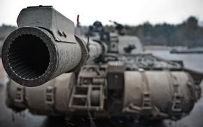 Picture the barrel, tank, trunk, combat, Challenger 2, Challenger 2, main