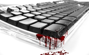 Wallpaper Keyboard, blood
