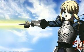 Picture girl, sword, short hair