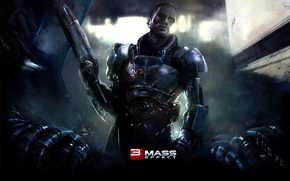 Picture Shepard, Mass Effect 3, Shepard