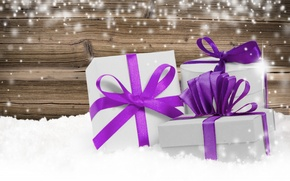 Picture snow, decoration, New Year, Christmas, gifts, Christmas, Xmas, decoration, gifts, Merry
