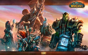 Picture weapons, Blizzard, wow, world of warcraft, Silvana, Sylvanas Windrunner, Thrall, Horde, warchief, Vol'jin, Thrall, Vol'jin, …