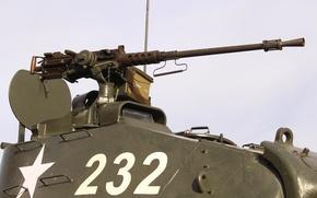 Wallpaper M41, Walker Bulldog, tank, heavy machine gun, easy