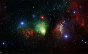 Picture stars, nebula, art, constellation, nebula, infinity