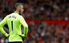 Picture football, sport, Manchester United, Manchester United, gea, David de Gea, David de GEA