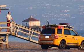 Picture beach, Ford, rescuers, escape, 272