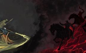 Picture art, clones, Dota 2, Chaos Knight, Azwraith, Phantom Lancer, copies, Halycon450