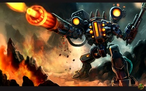 Picture the game, hon, dota, heroes of newerts, artilery
