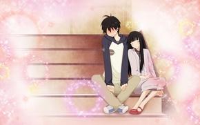 Picture mood, anime, art, pair, Kimi ni Todoke, To reach you