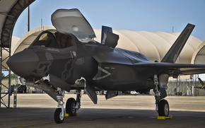Picture UNITED STATES AIR FORCE, Lightning II, F-35, Fighter-bomber