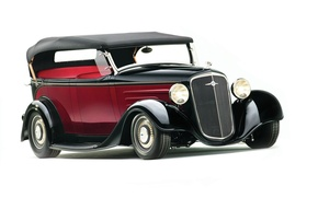 Picture Chevrolet, car, Hot Rod, Chevy, 1935, Phaeton