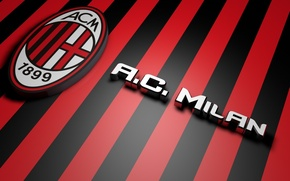 Picture football, Milan, AC Milan